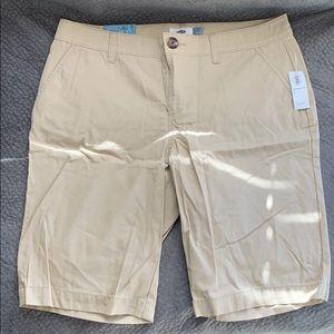 Old Navy Khaki Bermuda Shorts